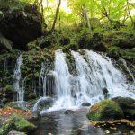 にかほ市 奈曽の白滝~元滝伏流水