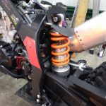 COTA300RRにハードスプリング取付&フォークオイル交換